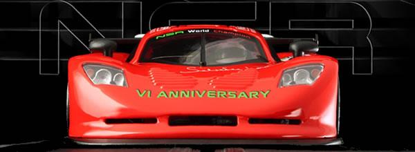 NSR Slot: une Mosler MT900R pour le 6è anniversaire de la disparition de Salvatore Noviello