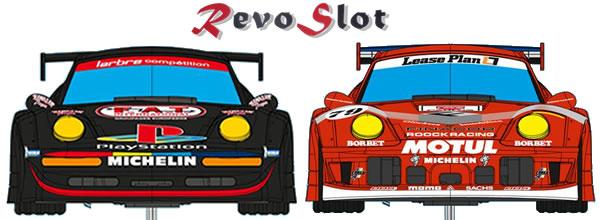 Revoslot: Deux nouvelles livrées pour les Porsche 911 GT2