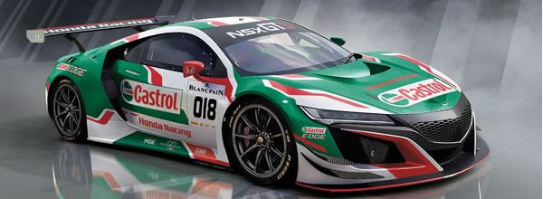 Scaleauto: la Honda NSX GT3 à l'echelle 1/32 pour le slot racing