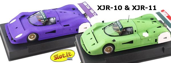 Slot.it les Jaguar XJR-10 et XJR-11 pour le slot