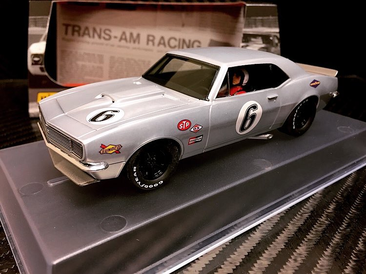 "Pioneer: la Camaro SS 1967 ""Bare Metal Racer"" # 6 P070"