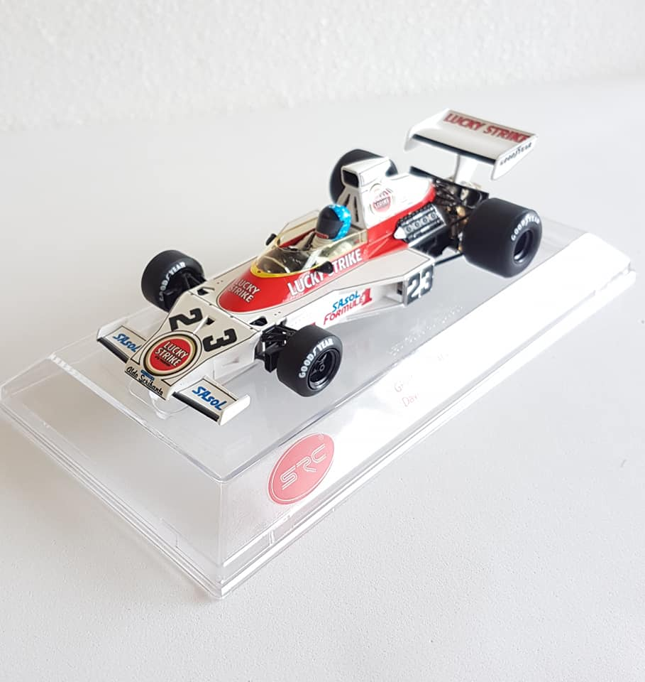SRC: la McLaren M23 Scribante Lucky Strike Racing 1974