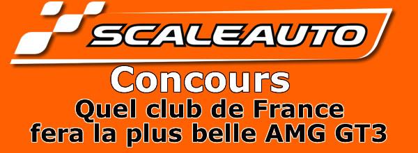 Scaleauto: AMG GT3 concours de décoration
