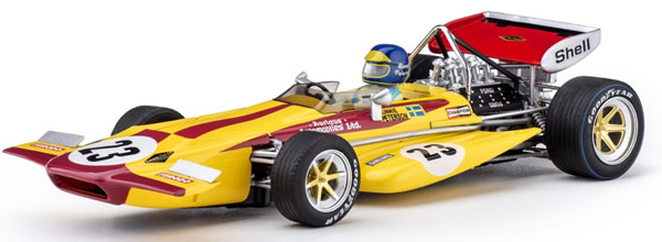 Policar : la March 701 – #23 Ronnie Peterson – Monaco GP 1970