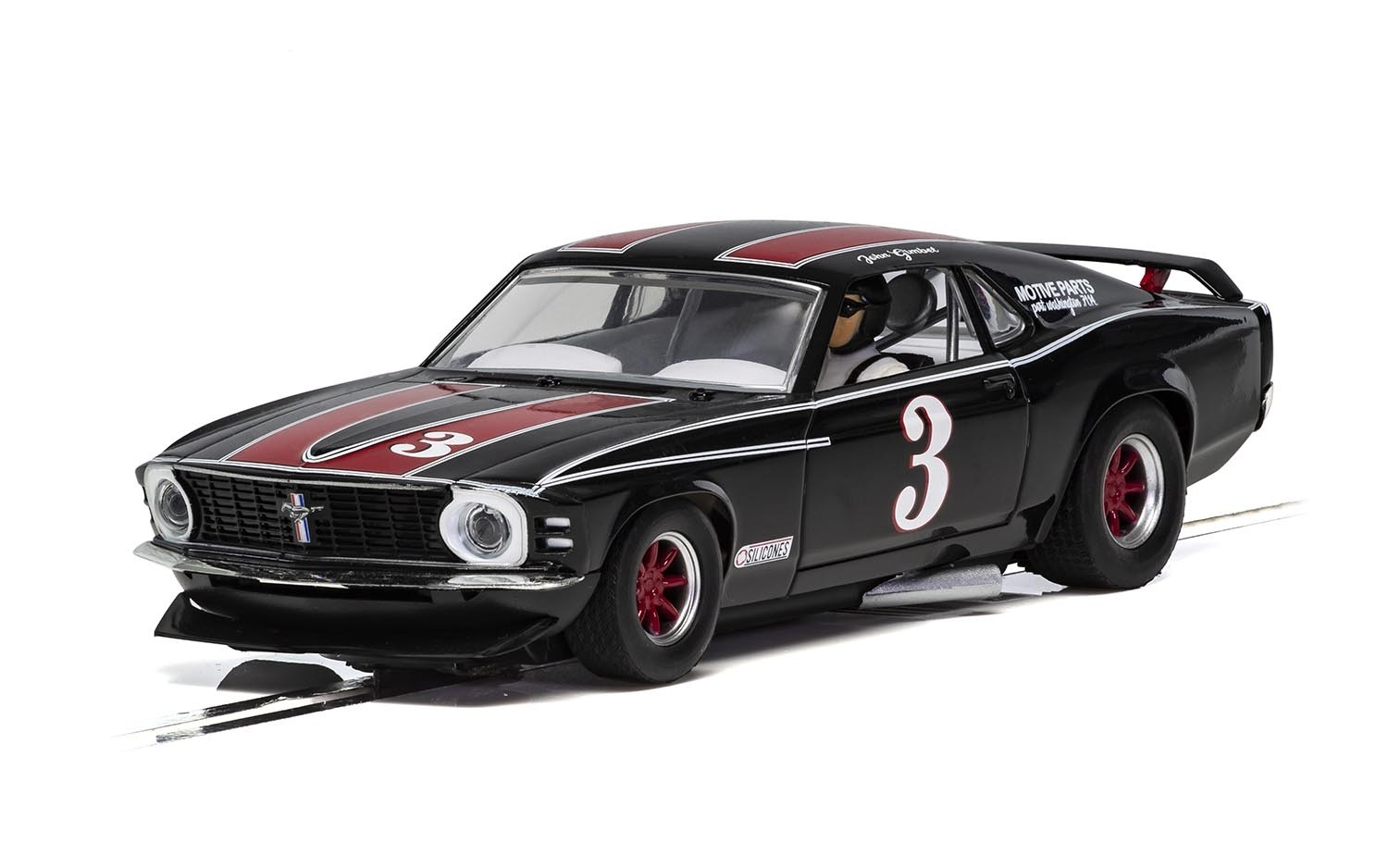 SCALEXTRIC C4014 - Ford Mustang Trans AM 1972 - John Gimbel #3