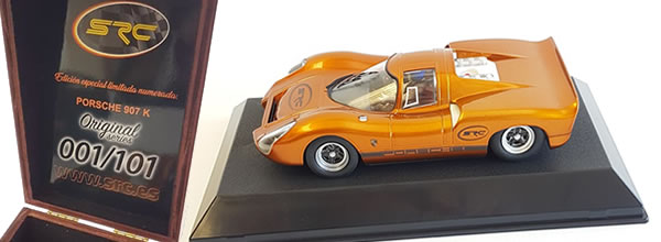 "SRC: Un coffret Collector Porsche 907K ""Original Séries"""