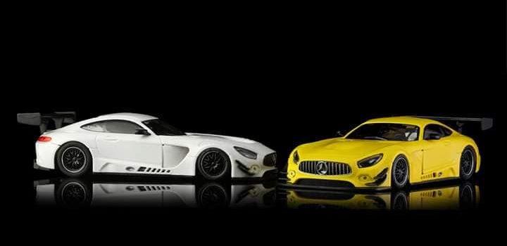 NSR Slot: La Mercedes AMG GT3 version Test dévoilée