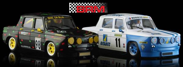 BRM: Deux nouvelles livrées pour les R8 Gordini a l'echelle 1/24