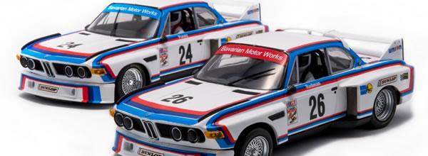 Fly Slot: les deux BMW 3.5 CSL – IMSA 1975