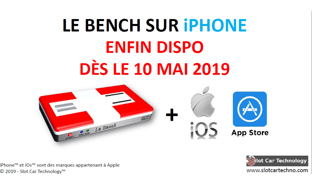 Le Bench: l'application iPhone c'est pour le 10 mai 2019