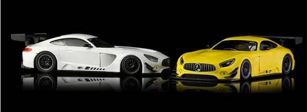NSR Slot La Mercedes AMG GT3 version Test dévoilée