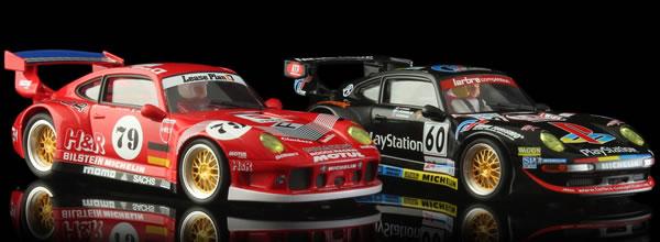 Revoslot: les PORSCHE 911 GT2 – 24 H LE MANS 1996 et 1998