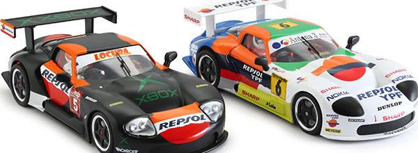 Revoslot: les deux Marcos LM600 - Championnat GT d'Espagne