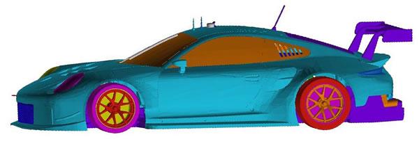 Scaleauto : le projet Porsche 991 GT3 RSR à l'echelle 1/32 avance