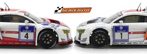 Scaleauto: les 2 R8 LMS GT3 Nurburgring 2015 équipe Phoenix