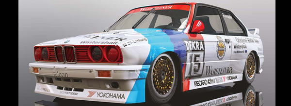 Scalextric: BMW E30 M3, DTM 1989 CHAMPION C4040