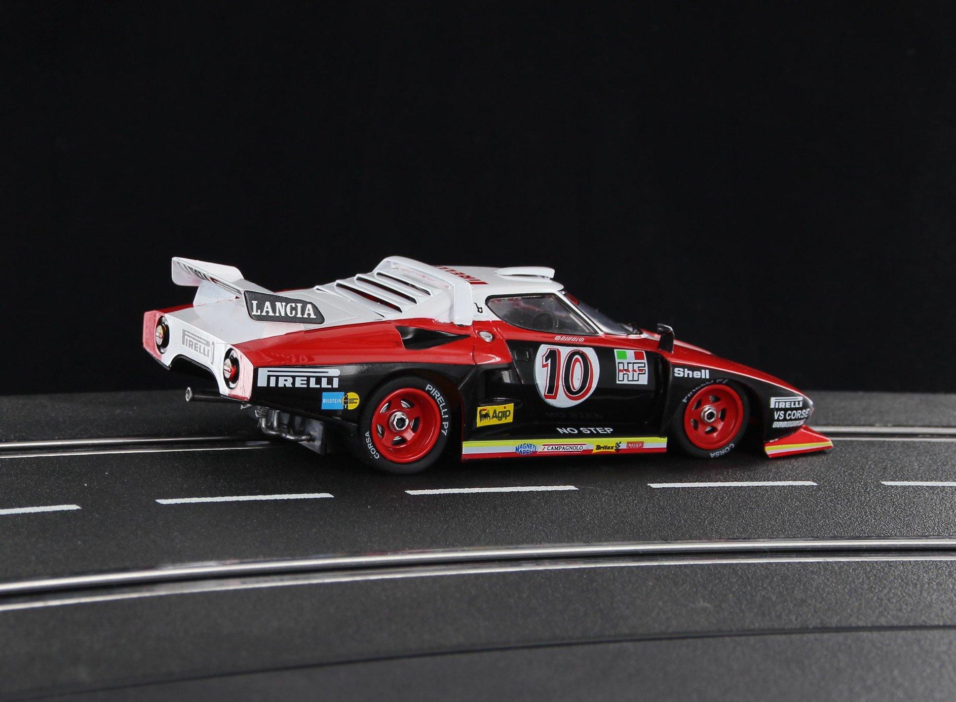 Sideways: Lancia Stratos HF Turbo Pirelli Giro D'italia 1977 (SW63)