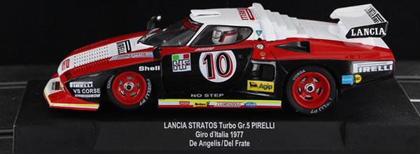 Sideways : la Lancia Stratos HF Turbo Pirelli Giro D'italia 1977