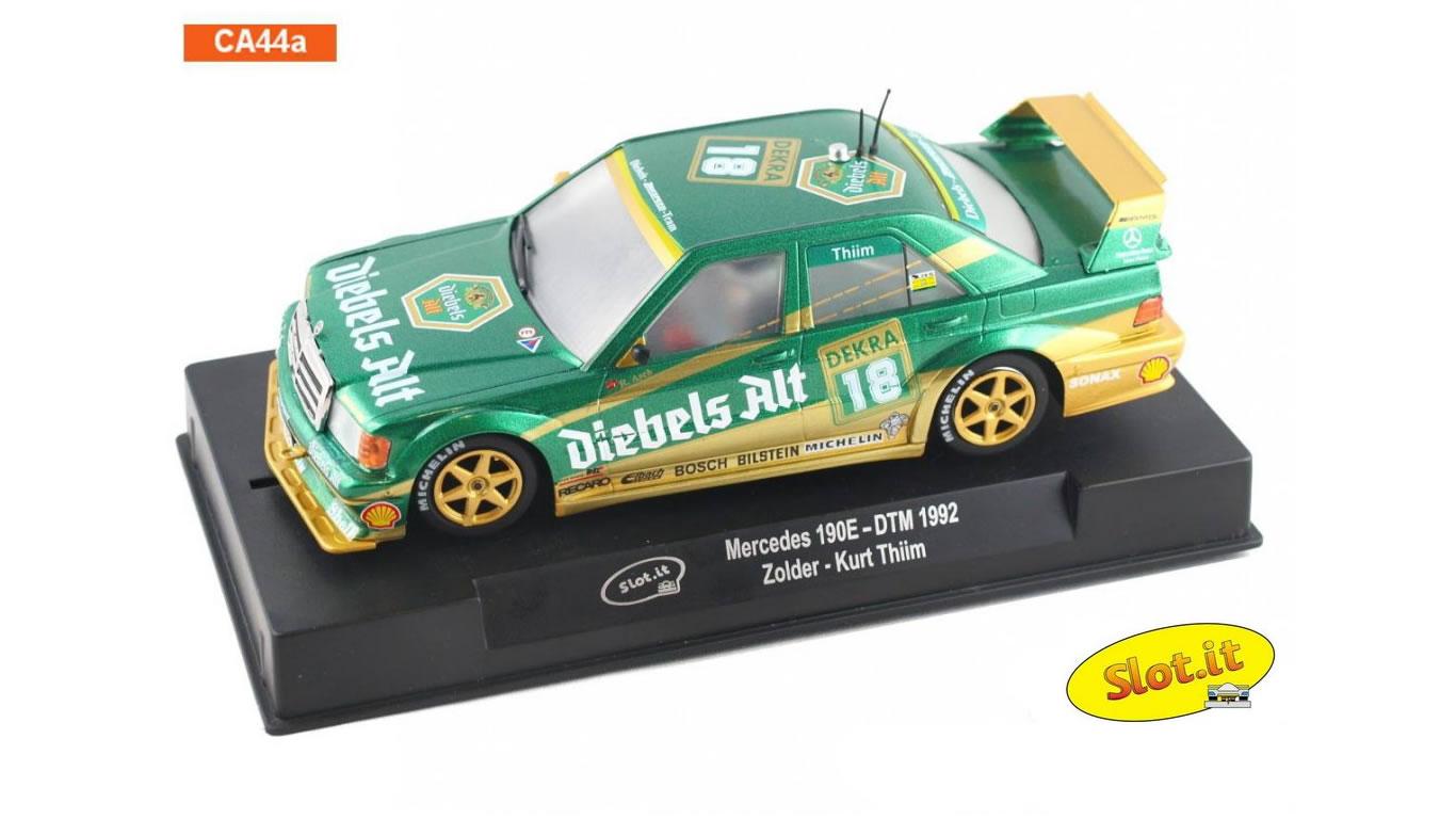 Slot.it La sortie de la Mercedes 190E DTM Classic est décalée