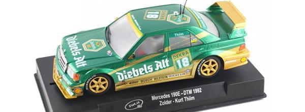 Slot.it: La sortie de la Mercedes 190E DTM Classic est décalée.