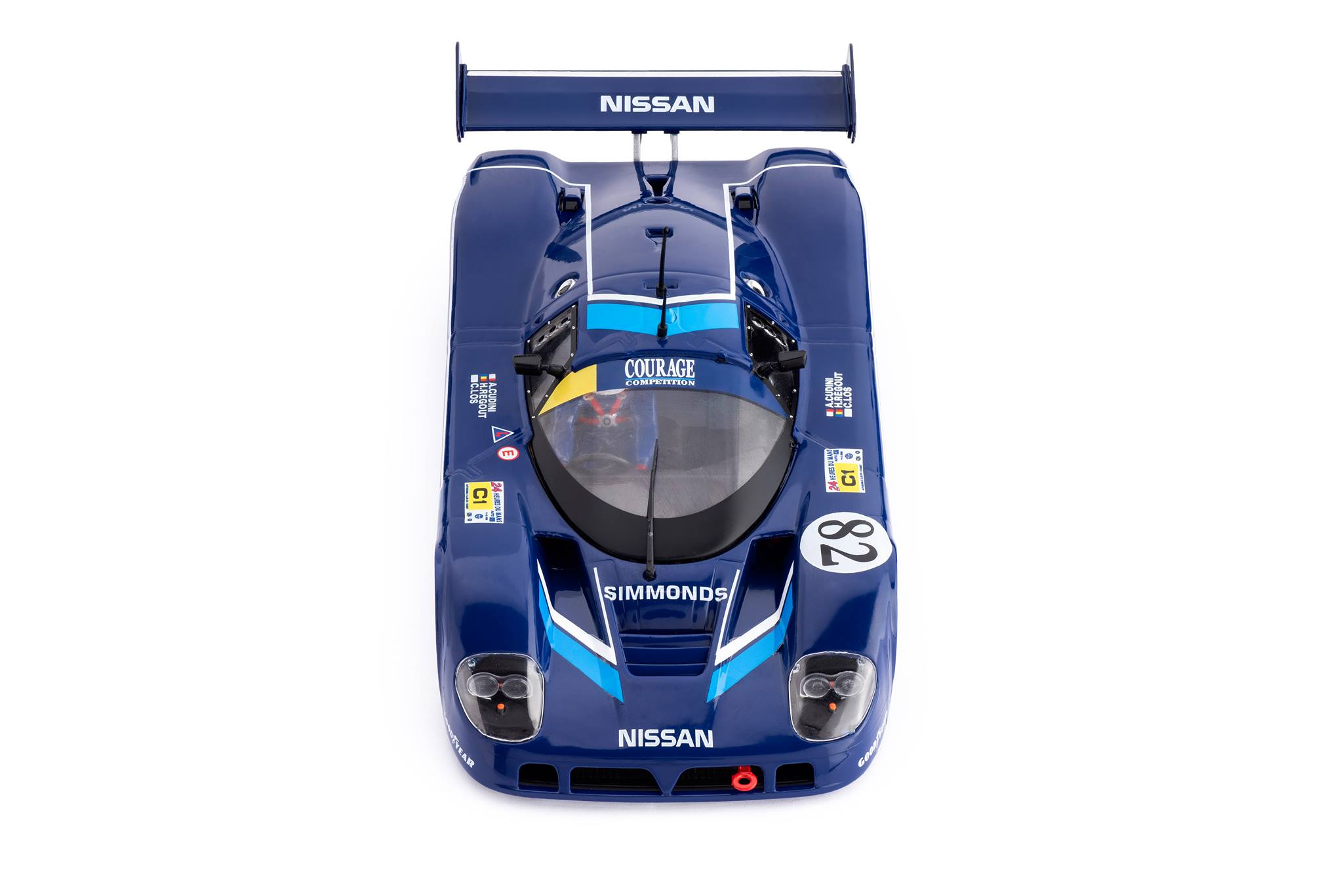 Nissan R89C - n.82 24h Le Mans 1990 référence : CA28f