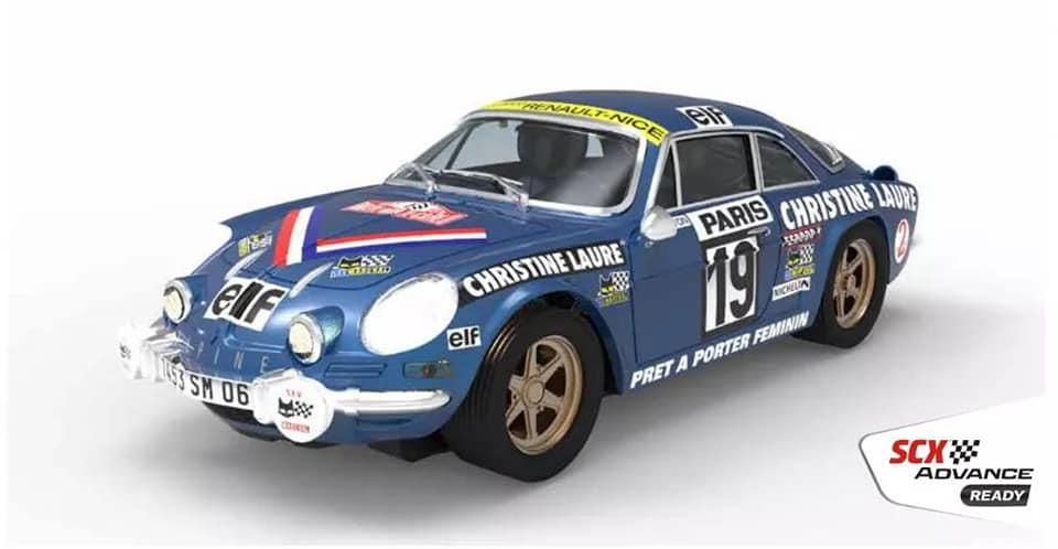 Alpine A110 Monte Carlo 76 SCX, référence U10238S
