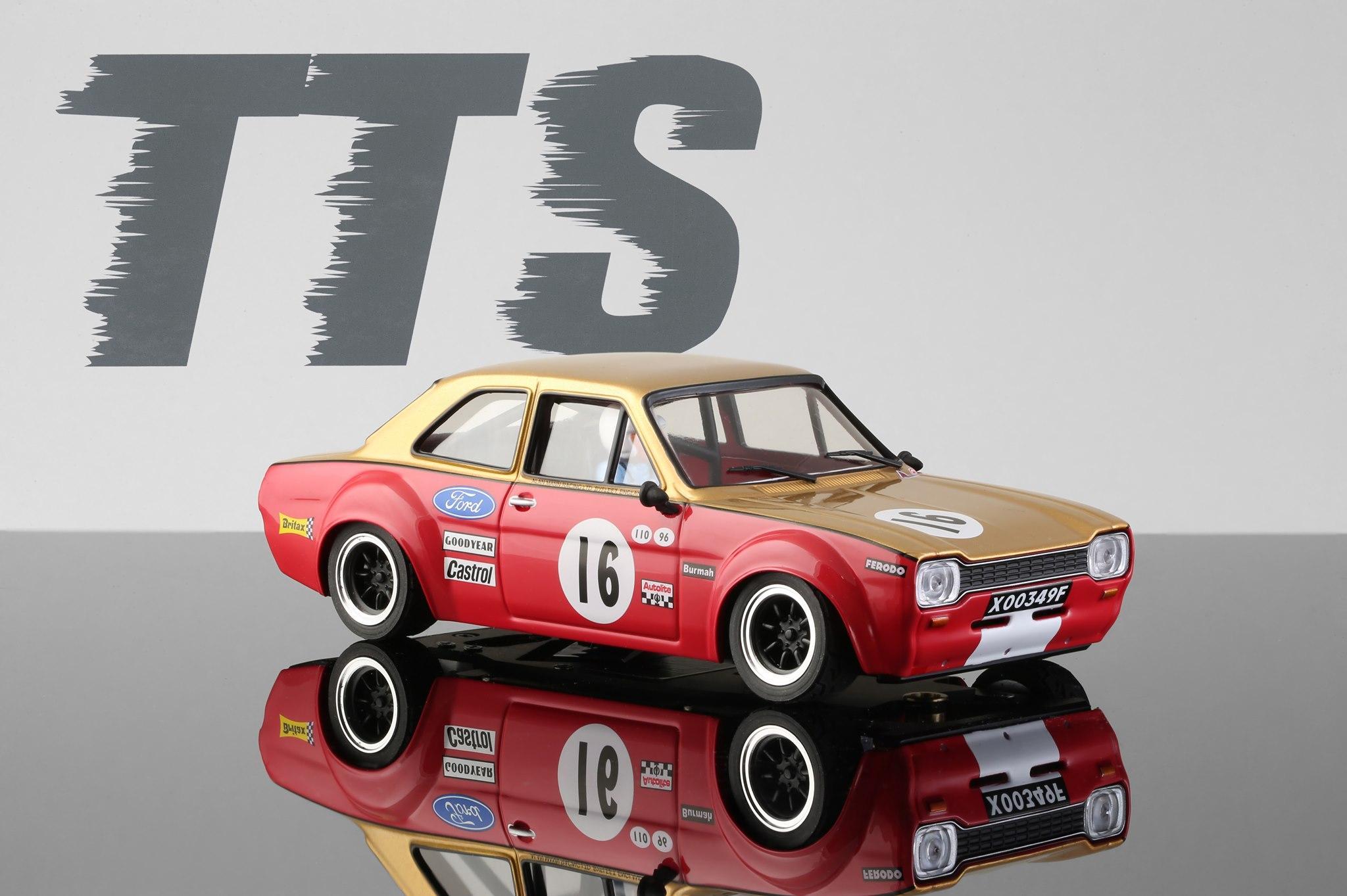 TTS 1/24 - Ford Escort MK1 - Alan Mann #16 -TTS018