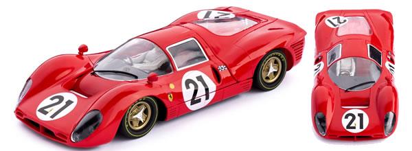 Policar: les photos de la Ferrari 330 P4 n.21 2e Le Mans 1967