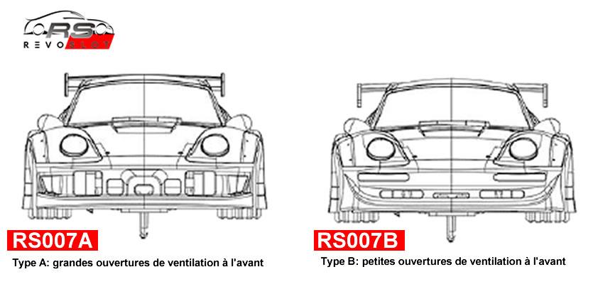 RevoSlot 1-32, Kit Porsche 911 GT2 'Kit Blanc'