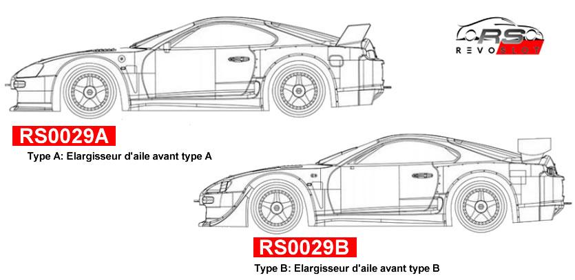 RevoSlot 1/32, Kit Toyota Supra GT 'Kit Blanc'