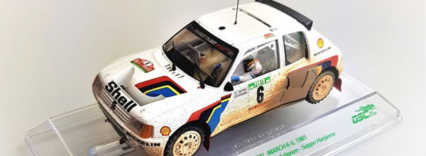 SRC: Peugeot 205 T16 EVO1 rallye du Portugal 1985 -version Dirty-