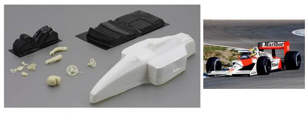 Scaleauto: Des carrosseries de F1 en fibre ultra legère Klasse-1