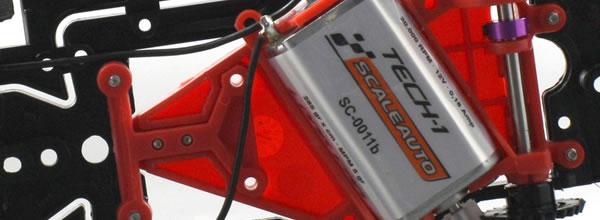 Scaleauto Trois nouveaux supports moteur avec Offset