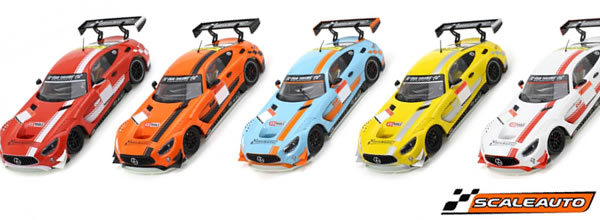 Scaleauto: les Mercedes AMG GT3 Cup Editions 2019