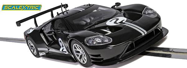 Scalextric: la Ford GT GTE Black No2 Heritage Edition C4063 se dévoile