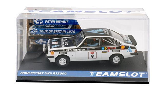 Team Slot  Ford Escort MKII RS2000 Tour of Great Britain 1976