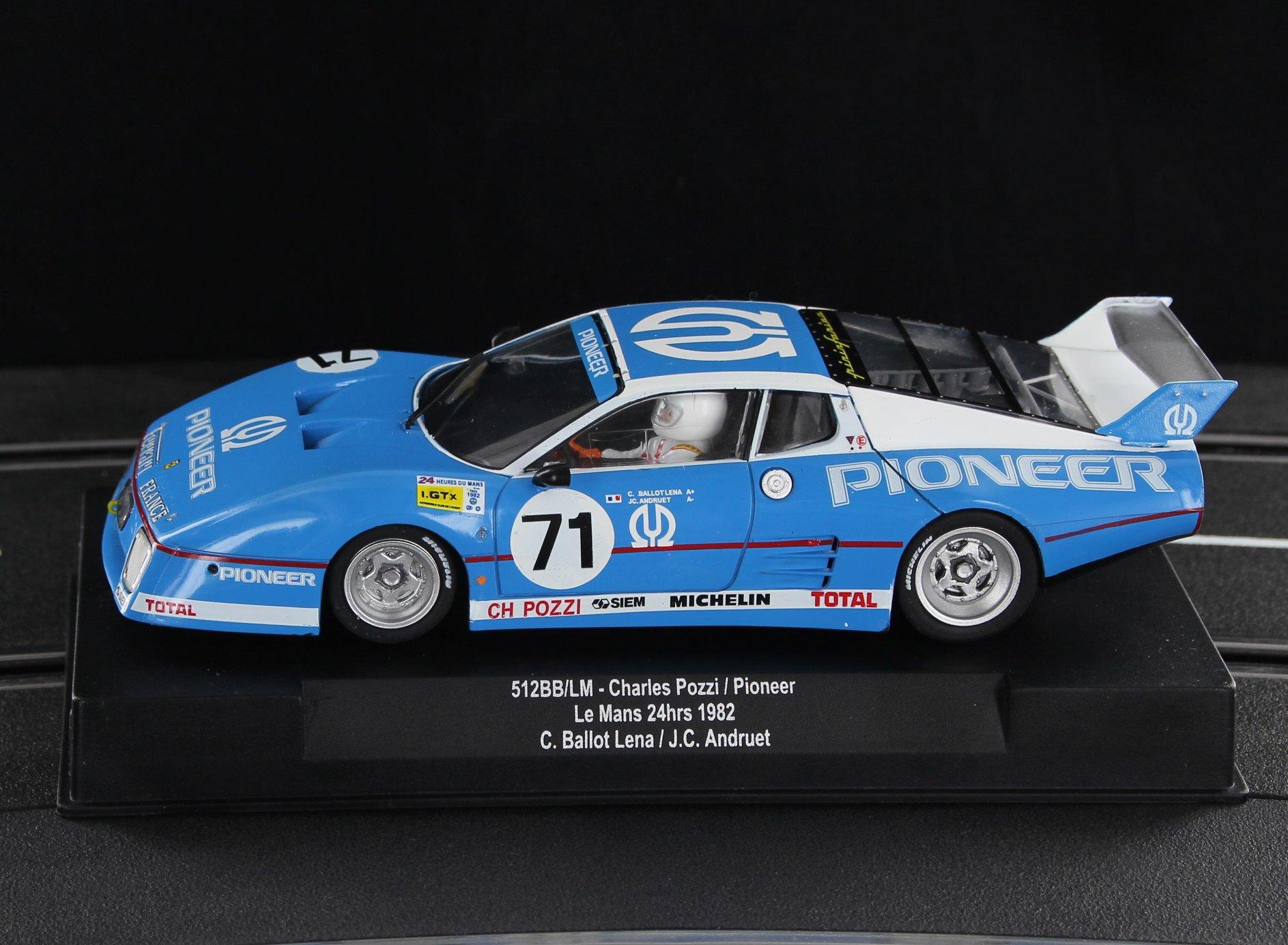 Ferrari 512BB Pioneer Le Mans 1982 – ref SW64