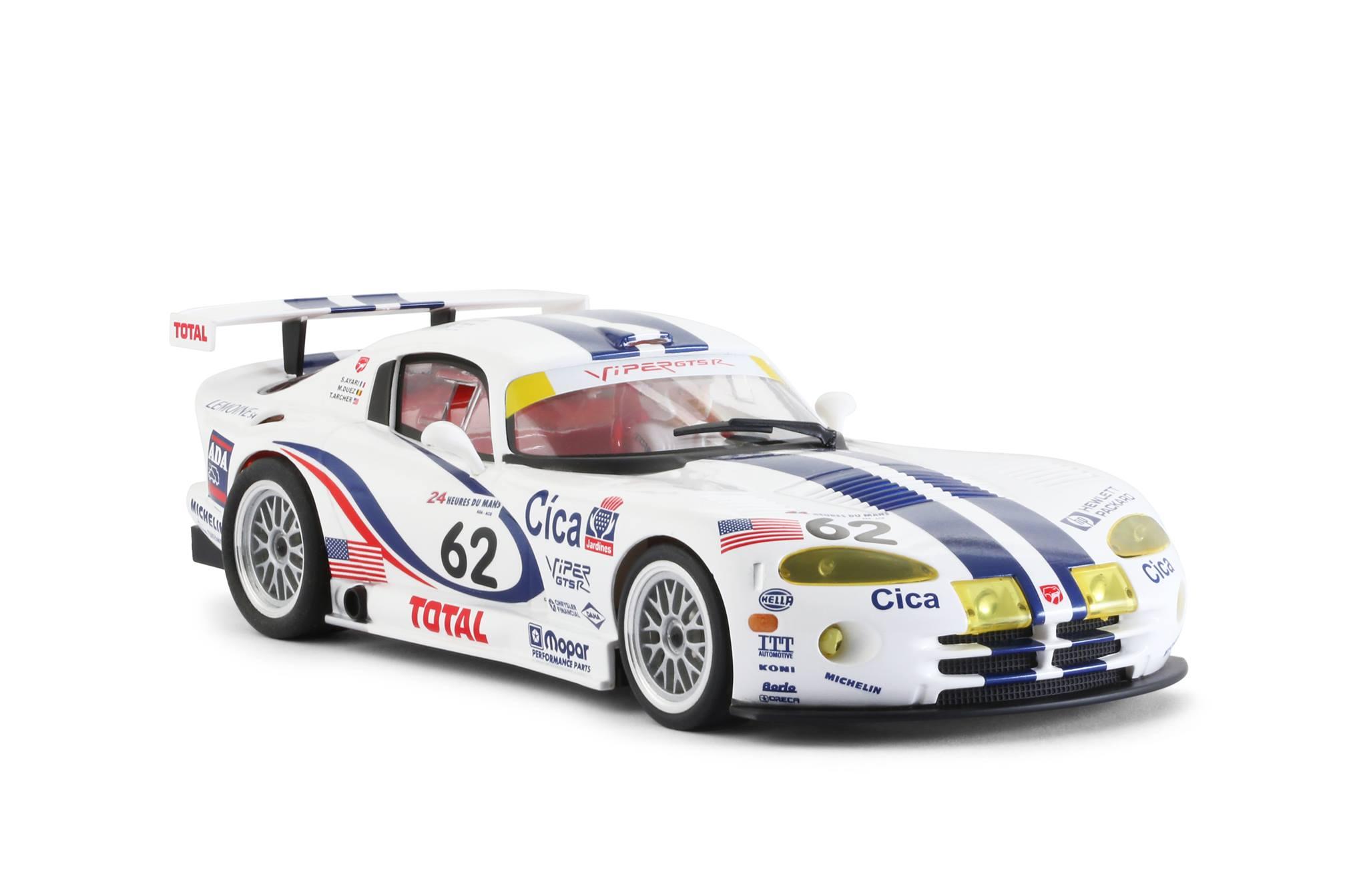 Viper GTS-R Team Oreca #62 Le Mans 1997 (Abandon – sortie de piste – 76 tours) – Pilotes Tommy Archer, Marc Duez et Soheil Ayari