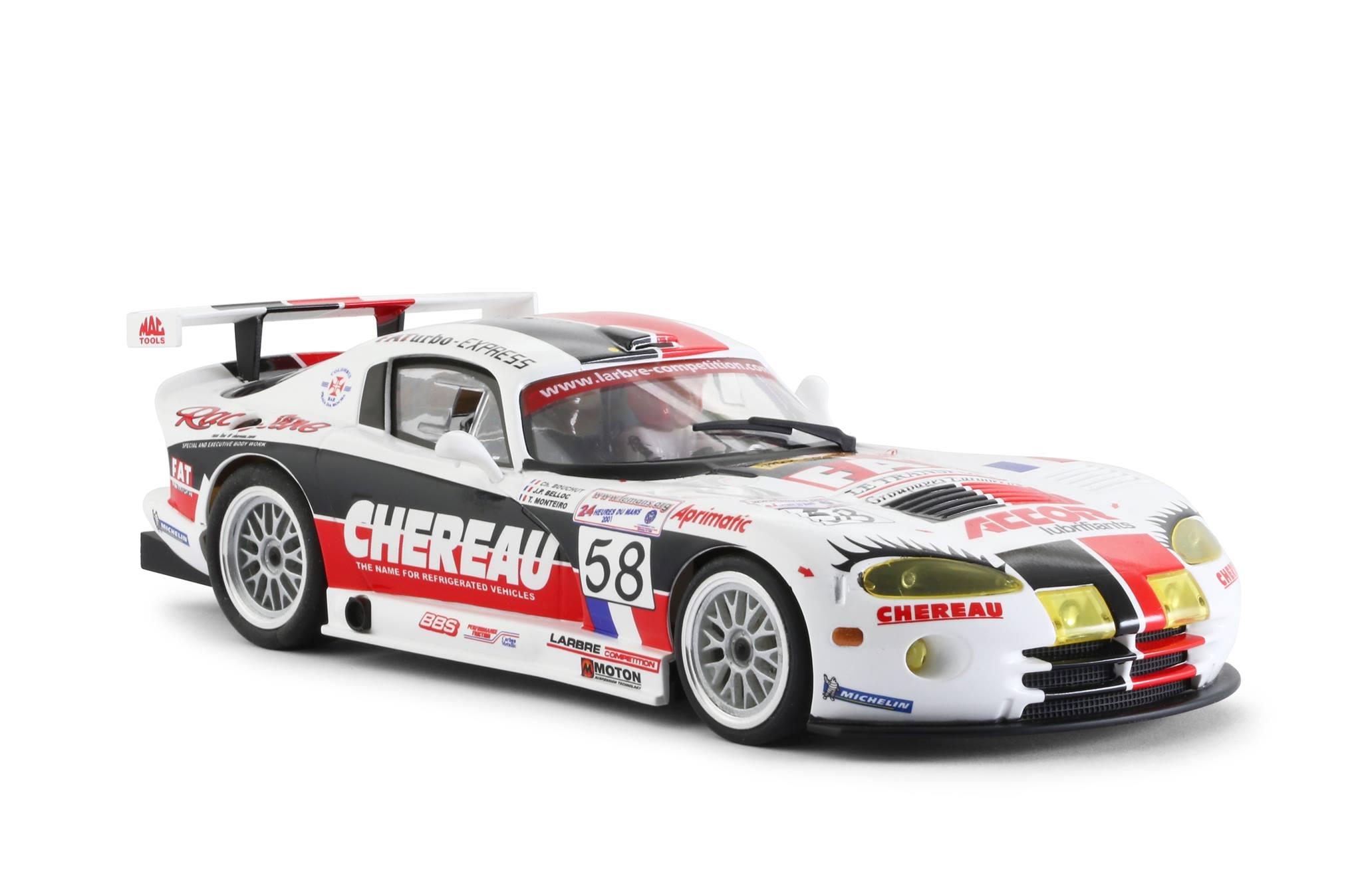 Viper GTS-R Team Larbre Competition Chereau #58 Le Mans 2001 (termine en 20 positions) – Jean-Philippe Belloc, Christophe Bouchut, Tiago Monteiro