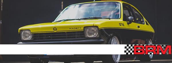 BRM: les deux premières livrées des Kadett GT/E ont fuité