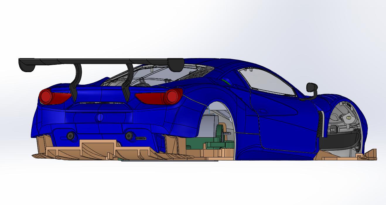 Ferrari 488 GT3 Sideways