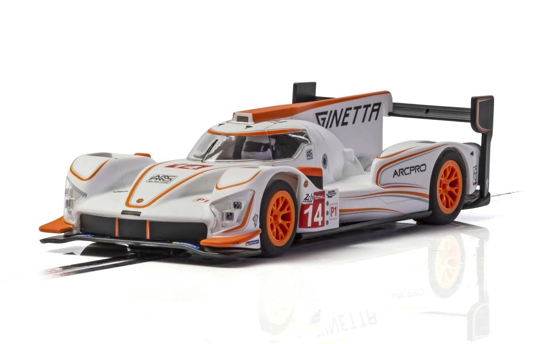 GINETTA G60-LT-P1 N ° 14 - BLANC  ORANGE C4061