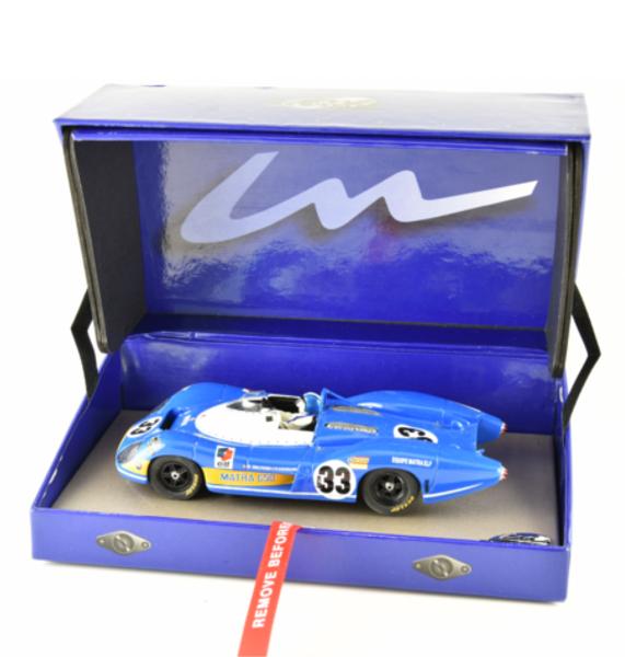 Le Mans miniatures: la Matra-Simca MS650 #33 24h du Mans 69