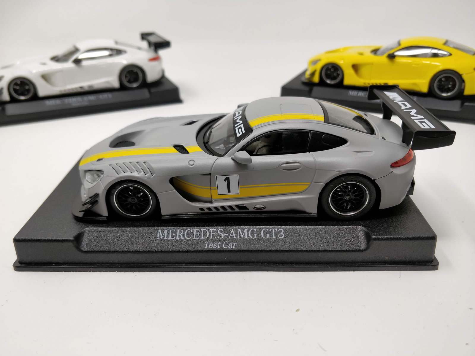 Mercedes AMG GT3 version test car