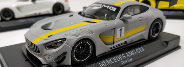 NSR Slot: la Mercedes AMG GT3 version Test Car Grey en photo