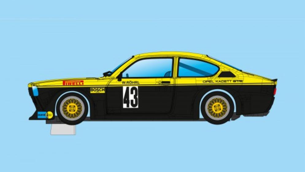 Opel C Kadett GTE #43 - DRM 1976 - Walter Röhrl