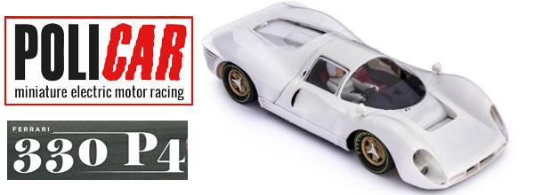 Policar : le kit blanc de la Ferrari 330 P4