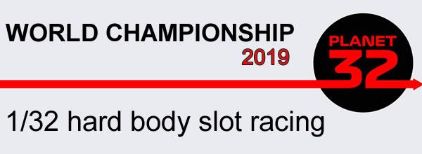 Résultats des 1er championnats du monde de slot racing 1/32 (Hard Body)