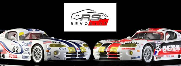 Revoslot: Deux nouvelles livrées pour les VIPER GTS-R à l'échelle 1/32