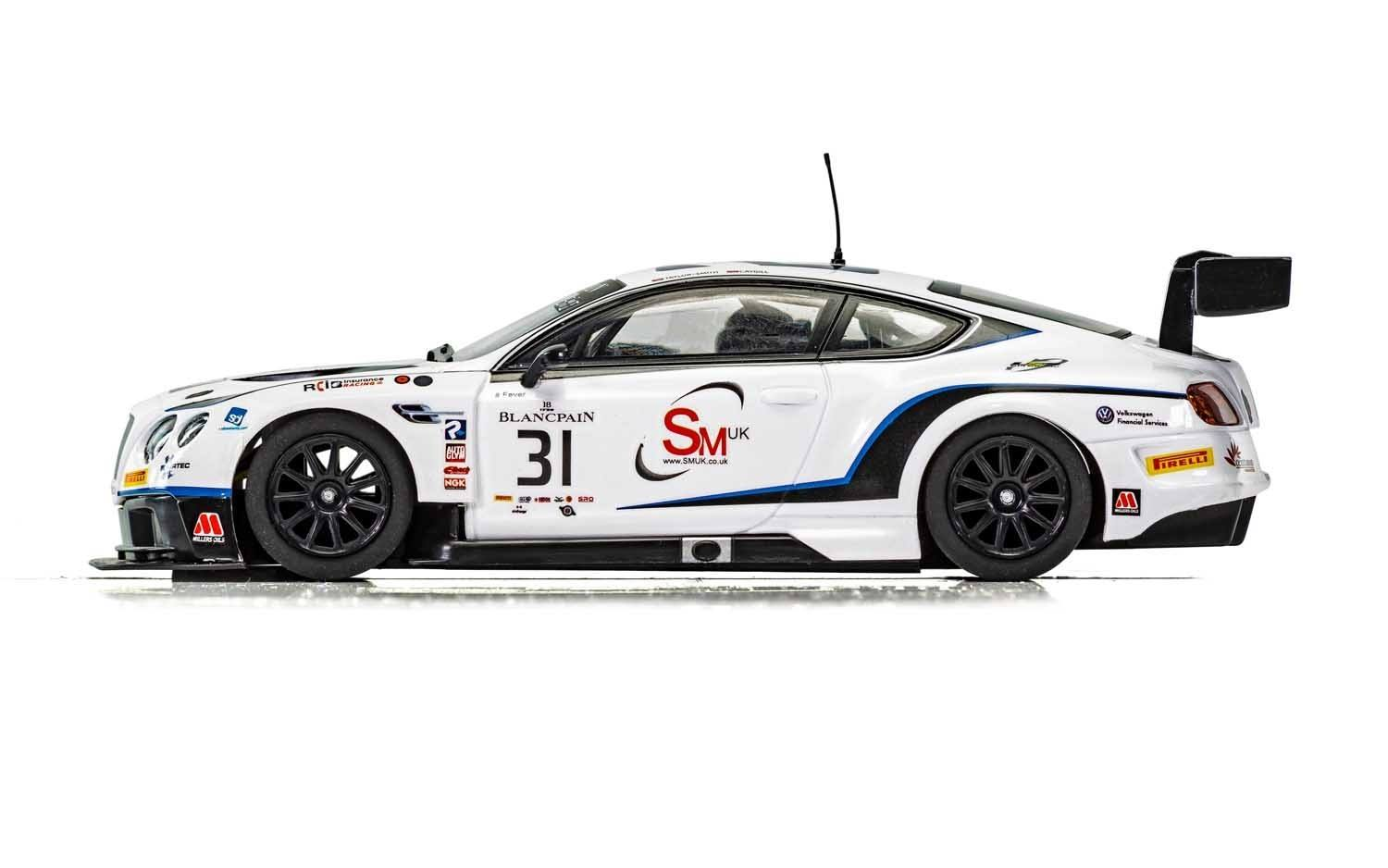 Scalextric  La Bentley Continental GT3 Team Parker Racing Brands Hatch 2018 - C4024
